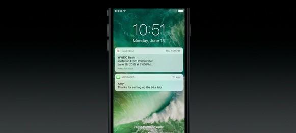Novas notificações no iOS 10.
