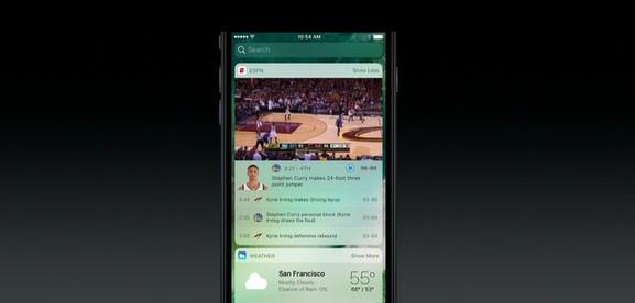 Widgets no iOS 10.